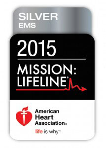 Mission: Lifeline Silver Performance Achievement Award for our STEMI Program by the AHA